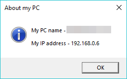 Script to show my computer name and IP address - Office 365