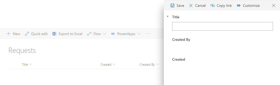 PowerApps form in SharePoint - show values of Created and Created By